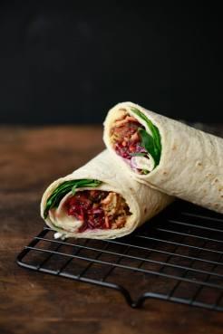 Vegan Festive Wrap