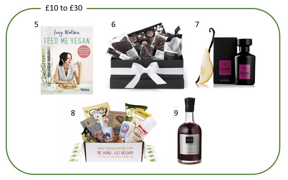 £10 to £30 - Vegan Gifts