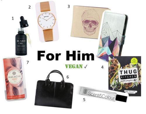 For Him - Mens Vegan Gift Guide
