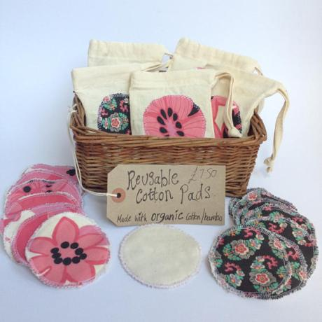 reuseable organic cotton rounds